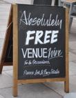 free venue in Wales