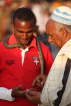 Slangenman Marrakech