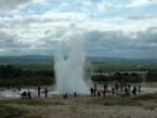 IJsland geyser