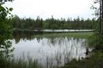 Meer bij Kuusamo Fins-Lapland