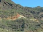 Mineralen in bergen Gran Canaria