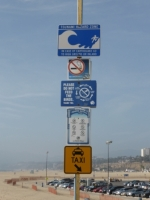 Waarschuwing Santa Monica Pier