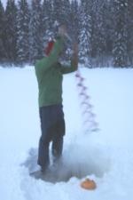 Pilkki, ijsvissen in Finland