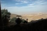 Israel uitzicht op woestijn