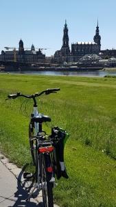 Dresden ontdekken op de fiets