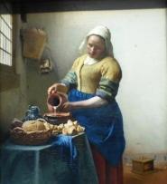 Puuropreis: melkmeisje van Vermeer