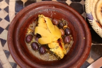 Gerecht in tajine Marrakech