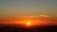 Zonsopkomst boven Sinaïberg
