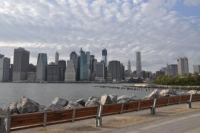 Uitzicht op Manhattan