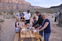 Picknick in Grand Canyon