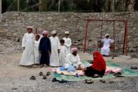 Gezin in Wadi