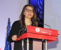 Amel Karboul, minister van Toerisme in Tunesië