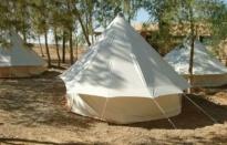Ecokamp in Jordanië