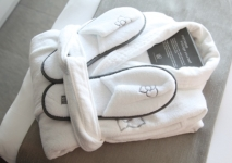 Badjas en /slippers, SHA Wellness Clinic, Spanje