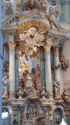 Altaar Frauenkirche Dresden