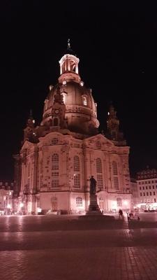 Frauenkirche Dresden by night
