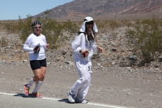 Marathon in Death Valley