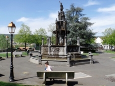 Plein met fontein, Clermont-Ferrand