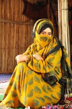 Vrouw Oman