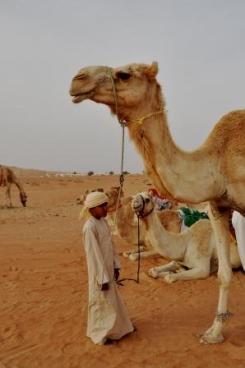 Kamelenjongen Oman