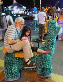 opa en kleinkind eilat
