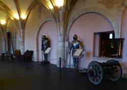 Interieur van kasteel Vianden