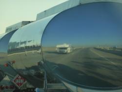 Reflectie camper