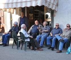 Mannen in de zon