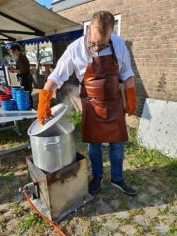Bruinisse mosselen koken