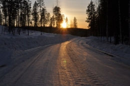 Lapland avond