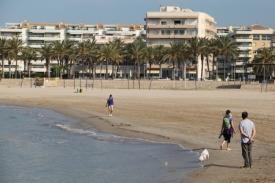 Strand in Vilanova