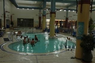 zwembad wellness woestijn