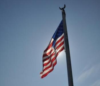 Amerikaanse vlag@puuropreis