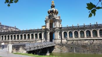 Moderne oude stadFeesten als een vorst in Dresden:...
