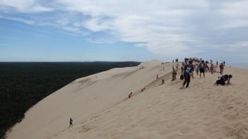 Zestig miljoen kubieke meter zandDune du Pyla: attractie van zand,...