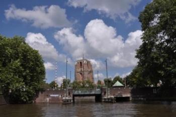 Leeuwarden, Friesland, Scheve toren