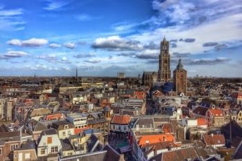 De bekende skyline van Utrecht ©0805edwin-pixabay