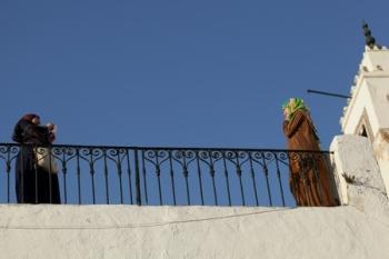 Vrouwen in Sidi Bou Said, Tunesië @Puur op reis