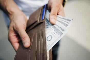 Vliegticket voor geld