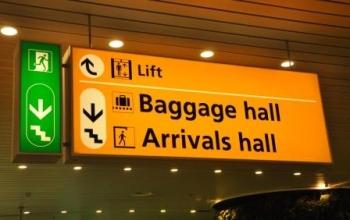 Schiphol vertrek en aankomsthal