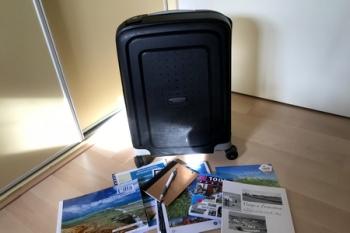 Koffer, vakantie