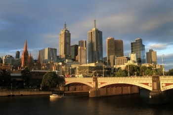 Skyline van Melbourne