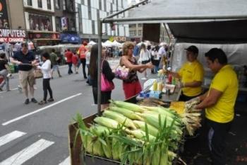 Puur op reis: new york eten
