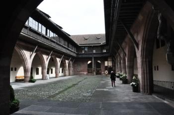 Binnenplaats ziekenhuis Neurenberg