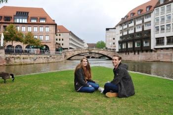 Kristina en Michael in Neurenberg@puuropreis