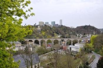 Uitizcht Luxemburg stad