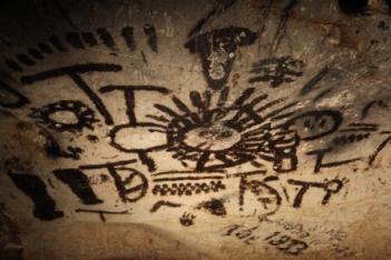 Rotstekening Magura-grot