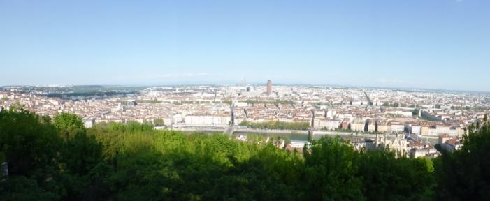 Puur op reis: uitzicht Lyon
