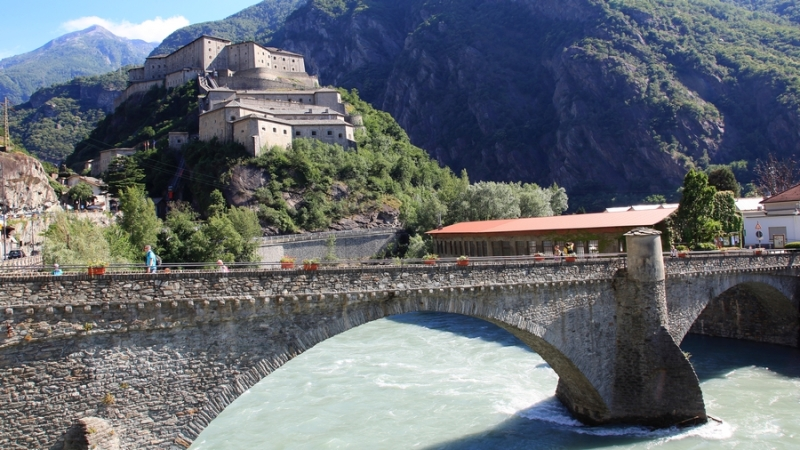 Forti di Bard in Valle d'Aosta ©puuropreis.nl