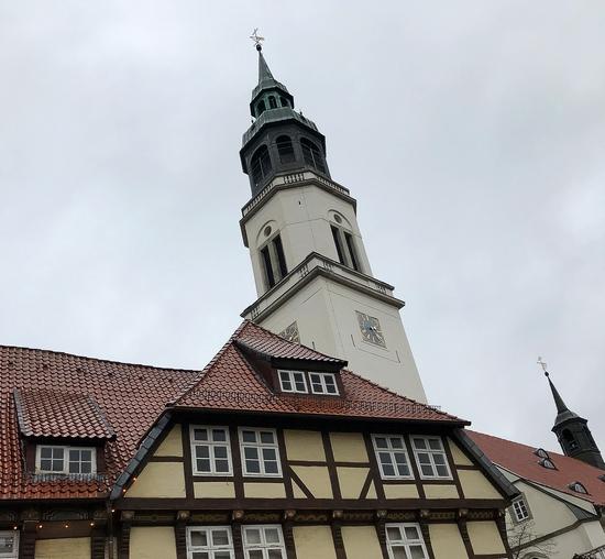 Kerktoren van Celle, Duitsland